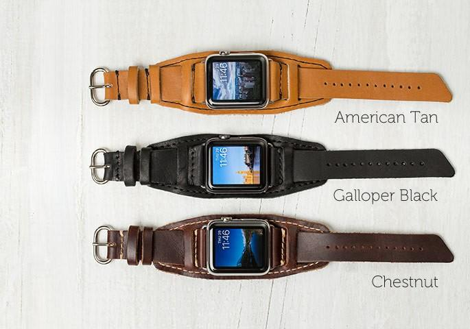 Lowry Leather Cuff for Apple Watch