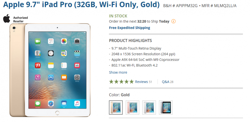 iPad Pro Deals