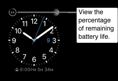 Apple Watch Battery Indicator
