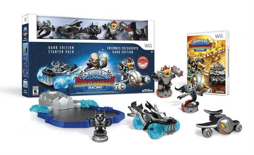 Skylanders SuperChargers Dark Edition Starter Pack for Nintendo Wii