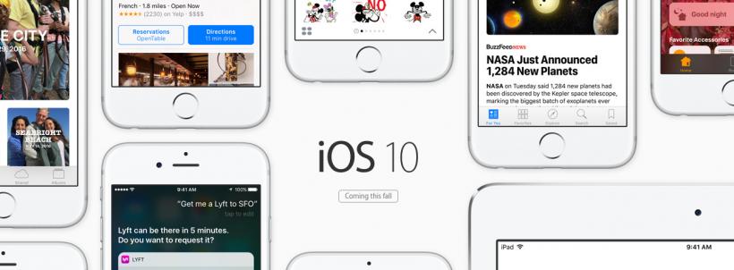 iOS 10 Teaser