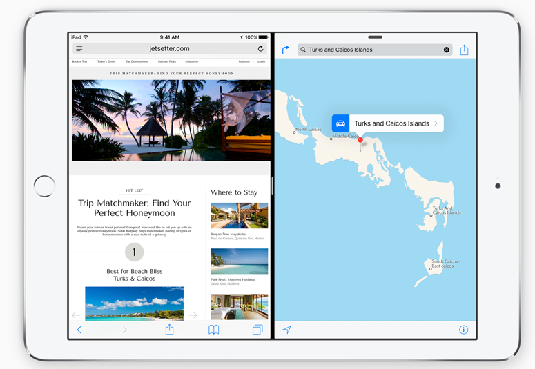 iOS 9 Split View