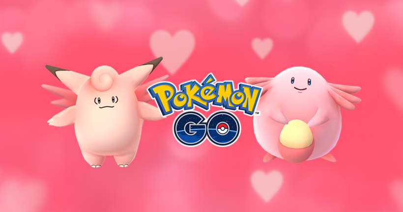 Pokemon Go Valentine's Day