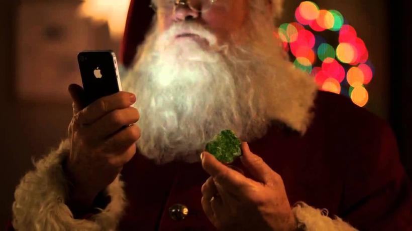 Santa Claus iPhone