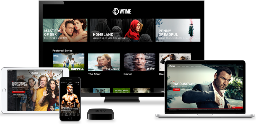 Showtime Streaming iOS