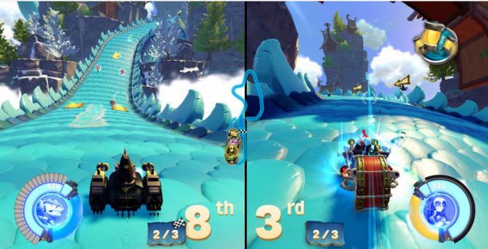 Skylanders Racing Mode