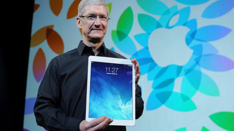 Tim Cook iPad Pro Mockup