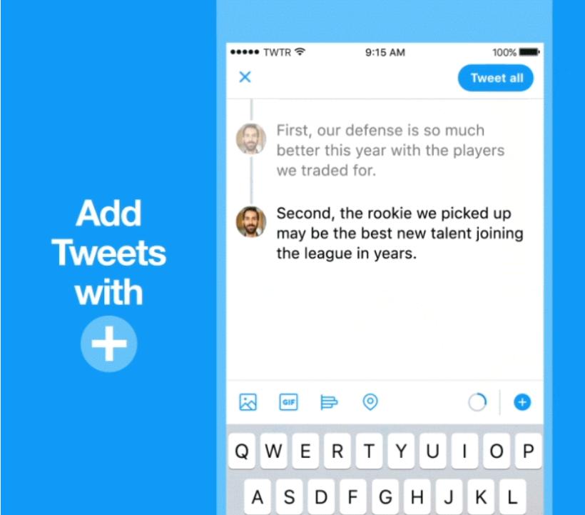 Add Tweets Button