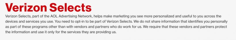 Verizon Selects